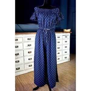 Anthropologie Findley Embroidered Jumpsuit New